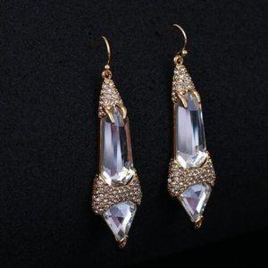 NEW Alexis Bittar Crystal Encrusted Earrings